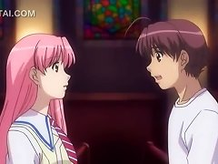 Anime Sweet Girl Showing Her Dick Sucking Skills