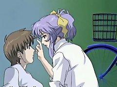 Hentai Nurse Sucking A Dick