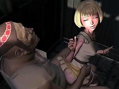 Blonde Anime Little Girl Fucked By A Big Dick In Bed